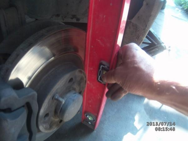 Особенности при замене передних стоек ВАЗ 2110, 2111, 2112