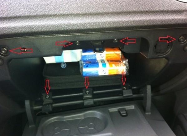 Установка сабвуфера Ford Focus 2