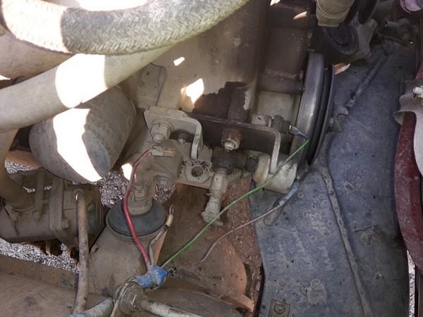 Перенос генератора на верх УАЗ-469 (417 Двигатель) УАЗ 3151