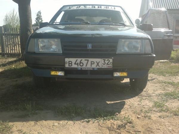 Установка ПТФ ВАЗ 2109