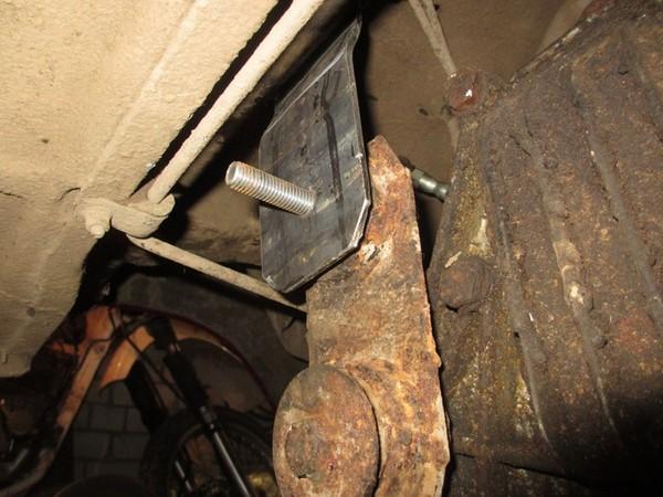 Установка задней подвески от БМВ Е21 на ВАЗ 2107