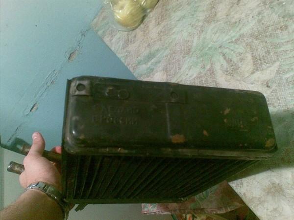 Трехрядный медный радиатор печки для НИВЫ