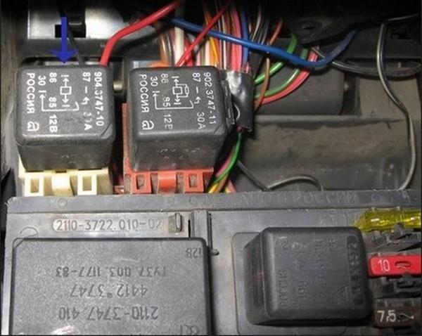 clip image010 - Схема подключения электростеклоподъемников ваз 2110