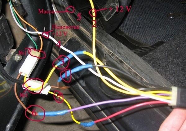 clip image027 - Схема подключения электростеклоподъемников ваз 2110